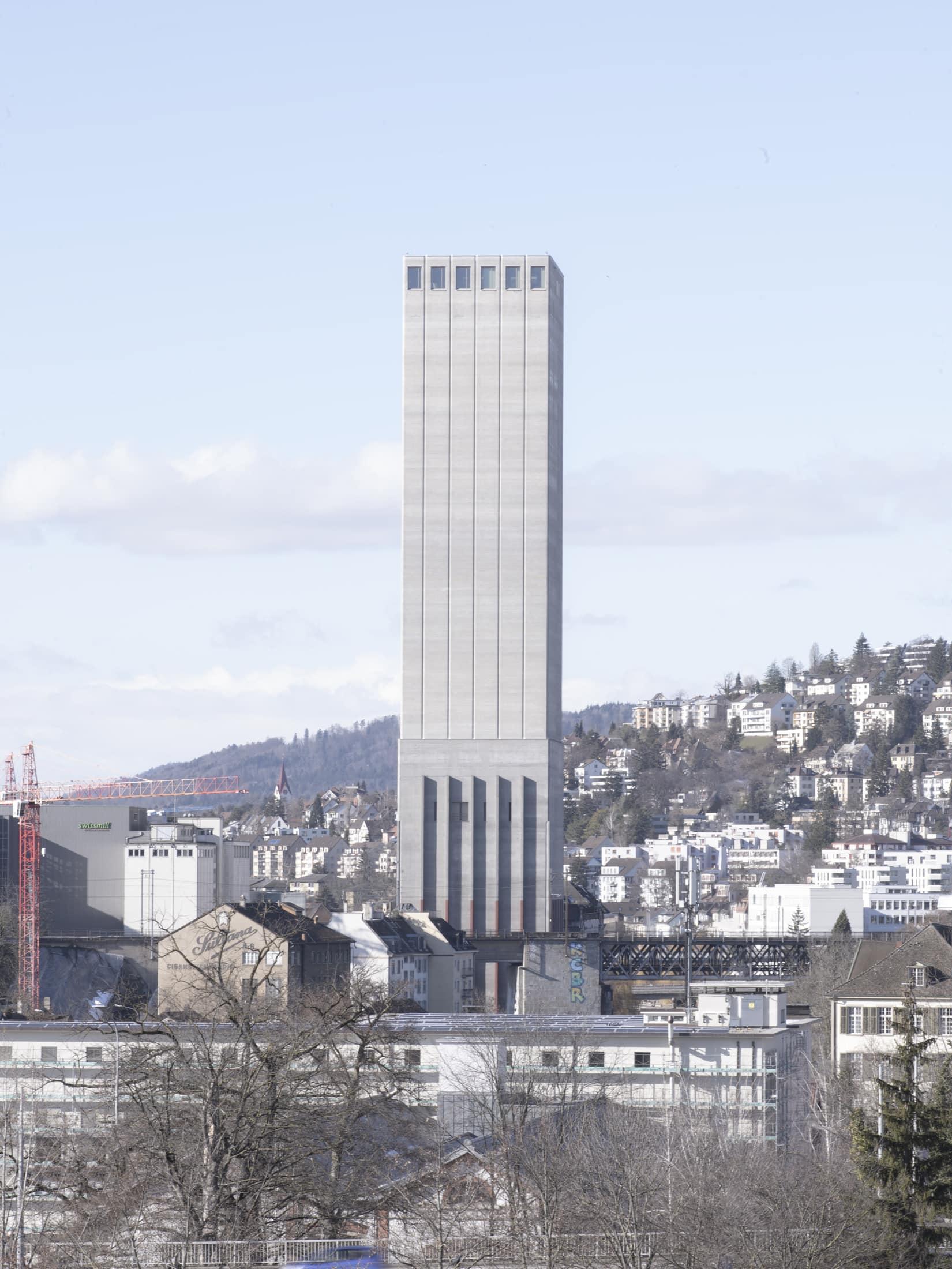 swiss mill silo à Zurich