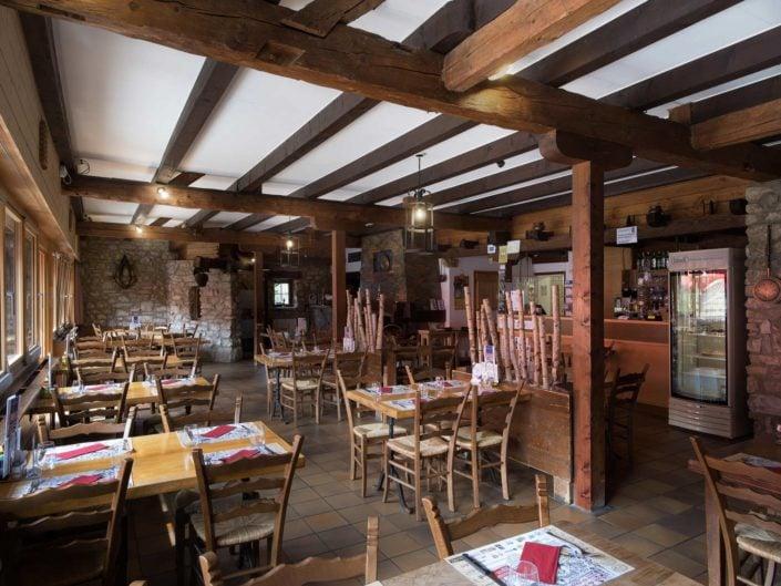 salle de restaurant de Juraparc